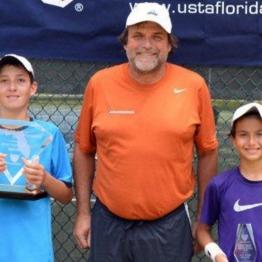 Boys 12s Joshua Miller (Champion) Emilio Van Cotthem (Finalist)