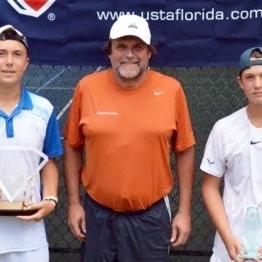 Boys 14s Mason Beiler (Champion) Adam Neff (Finalist)