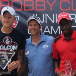 Boys 16s Adam Ambrozy (c) Mwendwa Mbithi (f)