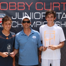 Boys 16s Feed In Consolation - Gregory Durham Peter Litsky