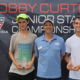 Boys 16s Nikola Samardzic (5th) and Sean Brunette (6th)