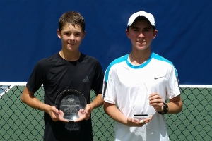 Boys 14's 1st and 2nd Tyler Zink - Dylan Breslaw