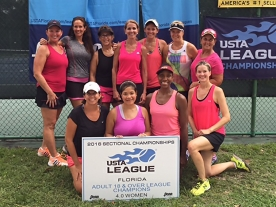 4.0 Womens Champions - Clay
