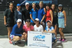 Women 5.0+ Champions - Orange