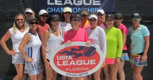 Adult 40 Womens 4.0 Finalists - Orange Seminole