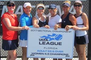 4.5 Womens Champions - Orange Seminole