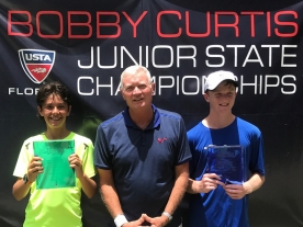 Boys 14s 1st 2nd - 1st Jack Anthrop 2nd Jonah Braswell