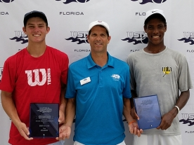 Boys 18s 1st 2nd - Michael Heller Evan Bynoe