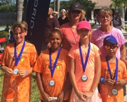 10U Orange Ball Flight 1 Finalists - Blazing Baseliners