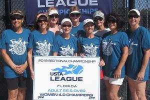 Women 4.0 Champions - Pinellas