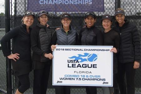7.5 Womens Champions - Orange Seminole