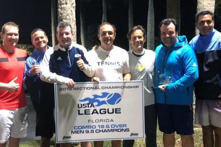 9.5 Mens Champions - Miami