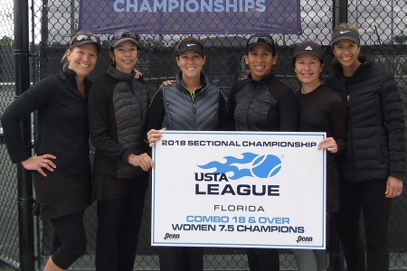 7.5 Womens Champions - Orange Seminole