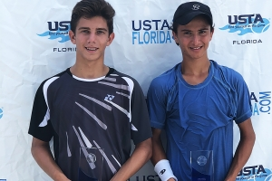 Boys 16s 1st 2nd - Jameson Corsillo Emilio Van Cotthem