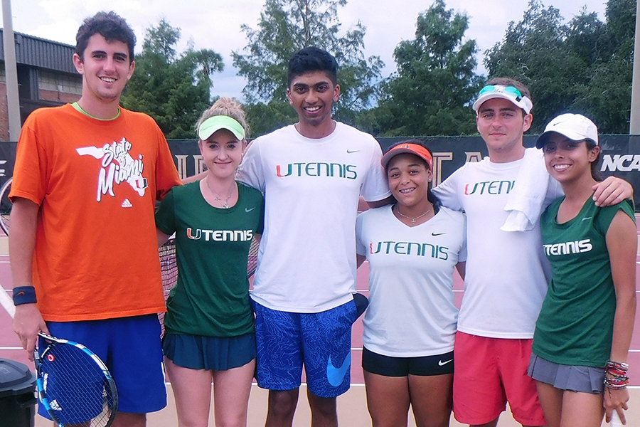 University Of Miami Central Florida Reach Rained Out Final At Usta Florida Tennis On Campus Fsu Battle In The Capital Usta Florida
