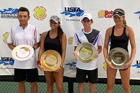 Mixed 16s Champs: Santiago Cardenas, Valeria Centeno     Finalists: Charlie Cowen, Ryan Wuhrman