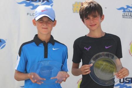 Boys' 1st Place Daniel Patsula, 2nd Place Andrea Bisarini