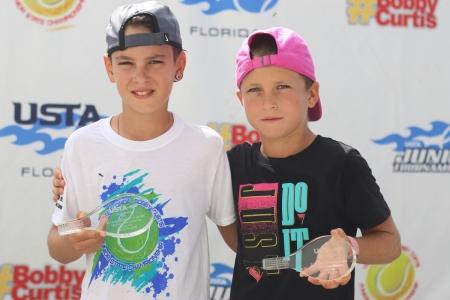 Boys' 3rd Place Daniil Voit, 4th Place Ivan Rybak