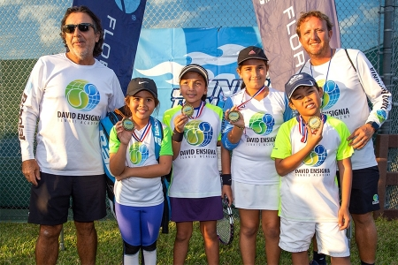 10U Orange Ball Finalists: Ensignia Tennis Orange
