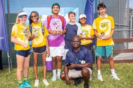 14U Yellow Ball Flight I Winners: Shack Racqueteers