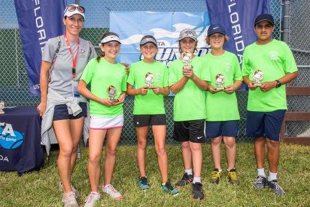14U Yellow Ball Flight II Winners: Florida Yacht Club 3