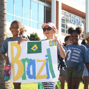 Members of Team Brazil