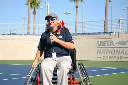 USTA National Manager and Head Coach of Team USA Wheelchair Jason Harnett