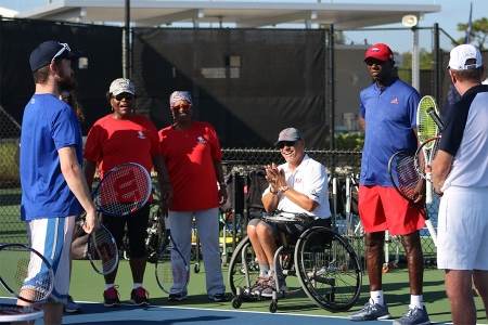 USTA Wounded Warrior Camp
