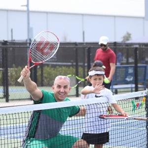 Family Tennis Fun Day at USTA National Campus
