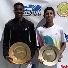 Bobby Curtis Singles Boys 16s Champion: Mekhi Gbedey -- Finalist: Yannik Rahman
