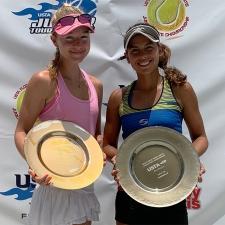 Bobby Curtis Singles Girls 18s Champion: Sophia Fornaris -- Finalist: Stephanie Sanchez
