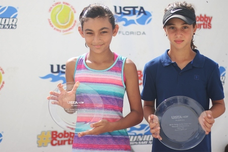Bobby Curtis Girls Green Ball Winner: Riddhi Thakur -- Finalist: Zara Kirkan