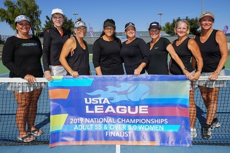 2019 Adult 55 & Over 8.0 Women National Finalists - Sarasota