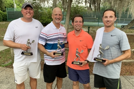 Mens-4.5-Doubles-Winners-and-Finalists-Jeffrey-Evans-William-Zeedyk-Jeffrey-Haynie-Ryan-Nestor