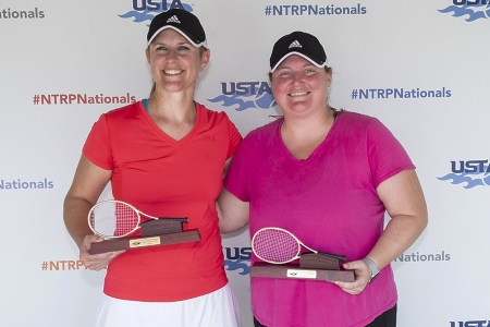 Jennifer Wysocki and Jenna Richardson - Women's 18s 3.5 Champions