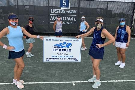 Women's 4.0 Winners: Pinellas