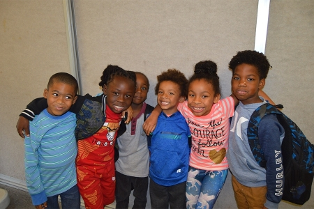 MaliVai Washington Youth Foundation kids