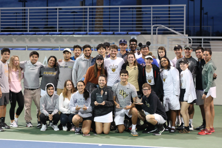 UCF Club Team at the 2019-20 USTA Florida 'Tennis on Campus' Sectional Championships