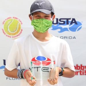 Benjamin Kuenzig (Boys' 3rd Place overall, Playoff winner)