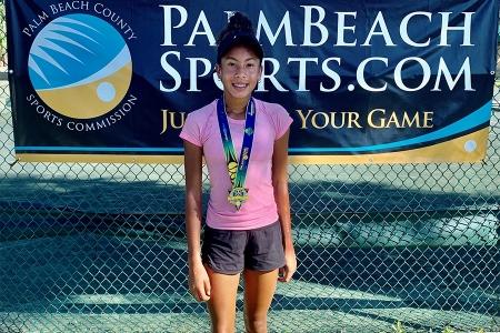 Girls' 12s Finalist: Adla Lopez