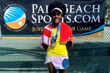 Girls' 14s Champion: Urhobo Akasha