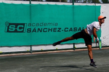 Daniel Labrador on the court