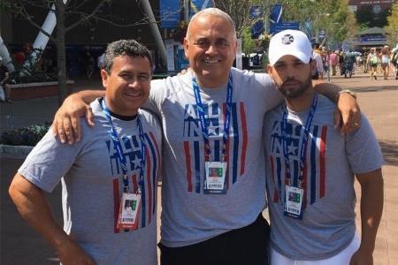 Robert Gomez at the US Open