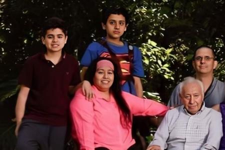 Juana Lopez and family