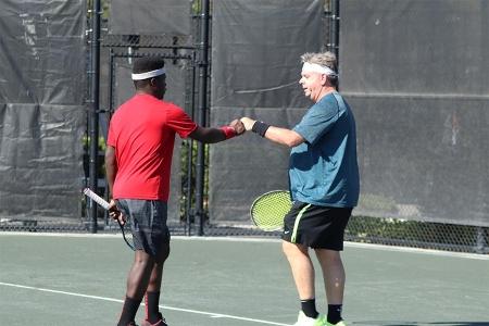 Teamwork on the court