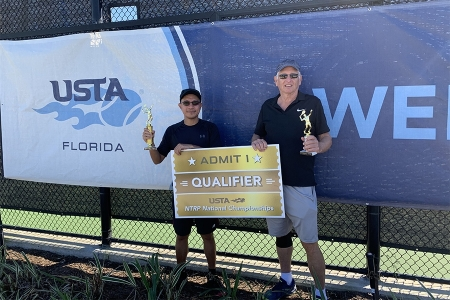 Men's 3.0 Singles -- 1st Place: Rene Dipus, 2nd Place: Bill Cordes