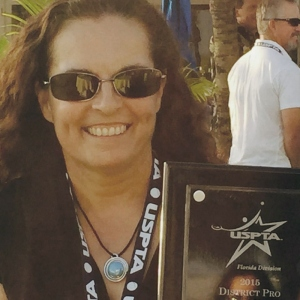 Burdell was USPTA's District Pro of the Year for the Florida Division in 2015