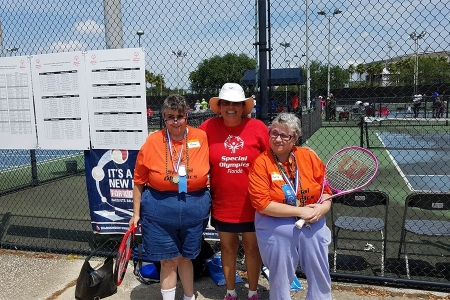 Assisting with Special Olympics Florida