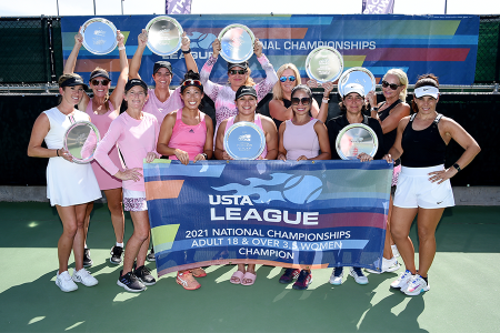 2021 National Champions - Adult 18 & Over 3.5 Women representing USTA National Campus, Lake Nona
