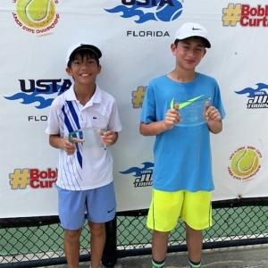 Boys' 3rd - Simon Le, 4th - Marco Kushnir